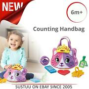 Leap Frog Purrfect Counting Handbag/baby Accessories Purse│pretend Play│6m+