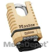 Master Lock 1177d, Combination Padlock Only No Key Is Included