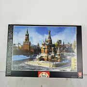 Educa 1500 Piece Jigsaw Puzzle 14815 Saint Basil's Cathedral Moscow Russia 85x60