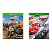 Monster Jam Steel Titans - Xbox One Standard Edition And Cars 3 Driven To Win -...