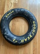 Dale Earnhardt Sr. Autographed Tire From Early 1990's Signatures Rare Man Cave