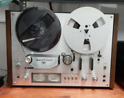 Reel To Reel Akai Gx-4000d Complete With 17 Reels And Gift