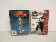 Lot Of 2 The Three Stooges Collection And Volume One 1934-1936-sealed Dvd Sets