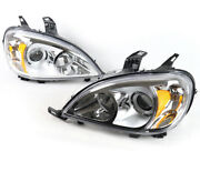 For 98-05 Mercedes-benz W163 Ml320 Ml430 Chrome Projector Headlights Lamps Used