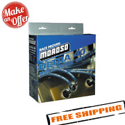 Moroso 73605 Ignition Wire Set, Ultra 40, Sleeved, Sbc, Non-hei, 90 Degree, Blue