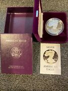 Silver Eagle 1986 Proof Qty 5 In Original Packaging And Original Us Mint Shipp