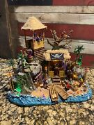 Lemax Halloween Spooky Town Pirates Pirates Hideout Lights And Sound Works-box