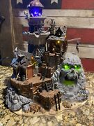 Isle Of Doom Lighthouse 2004 Lemax Spooky Town Retired Mint With Fogger Htf