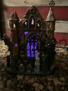 Lemax Spooky Town Halloween Village - Lighted Gothic Ruins - In Box