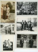 17 Vintage Photo Lot / Lost Family Members Left You In The Will Old Snapshots