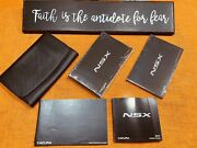 💥 2017 Acura Nsx Owners Manual Owners +guide Set +service Bk +nsx Case Sealed