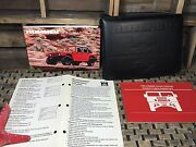 1995 Hummer H1 Owners Manual + 2006 Alpha Case Unused Service Gas Diesel Mint