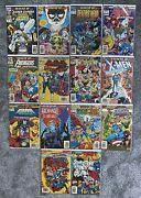 Marvel What If... 14 Comic Book Lot - News Stand Inc. 49 And 58 + More