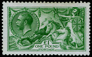 Sg403 Andpound1 Green Lh Mint. Cat Andpound2800. Waterlow.