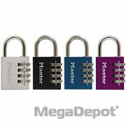 Master Lock 643dastwd, Combination Padlock Only No Key Is Included