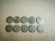Ancient Medieval Silver Coins Of The Commonwealth Poltorak1624. 10 Psc. 18
