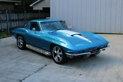 1967 Chevrolet Corvette Resto Mod Ls Coupe 6 Speed Side Pipes Vintage Ac Like New Beautiful Car