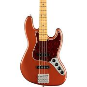 Fender Player Plus Active Jazz Bass Maple Fingerboard Aged Candy Apple Red