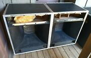 Jbl 4663 Cabinets-nice-3 Way-will Ship- For 2405 2345 2461 K130 Etc-1 Of 2 Pair