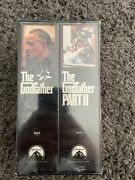 Rare The Godfather Collection Box Set Part 1 And 2 Vhs Sealed New Old Releases