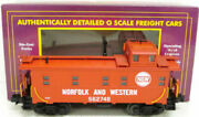 Mth 20-91017 O Scale Norfolk And Western Steel Caboose 562748 Ex/box