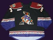 Tucson Roadrunners 2019 Kuemper Game Worn Jersey Ahl Size 58g Kachina Avalanche