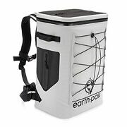 Insulated Backpack Cooler Holds 35 Cans For 72 Hours - 35 Can Light Gray
