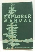 1954 Boy Scout Explorer Manual Very Good Condition