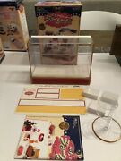 2004 Re-ment Puchi Sample Display Showcase Cabinet Bakery 16 Scale Barbie