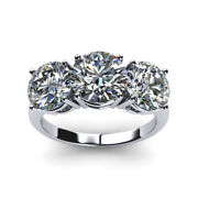 2.50 Carat Womens Real Diamond Engagement Ring Solid 950 Platinum Size 5 6 7 8 9