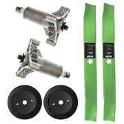 Heavy Duty Spindle Blade Pulley Kit For Husqvarna Lt Lth 130 Yth 150 1842 2242