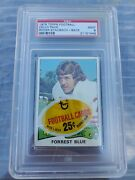 1975 Topps Football Cello Pack With Roger Staubach On Back Graded Psa 9