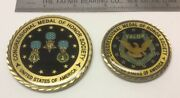Congressional Medal Of Honor Society - Challenge Coin Set