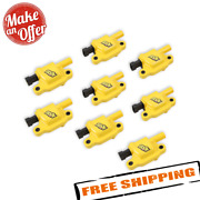 Accel 140043-8 Supercoil Ignition Coils, Yellow, 8-pack For Gm Ls2, Ls3 And Ls7