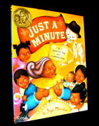 Just A Minute Counting Book Yuri Morales 2016 1st Ed Stated Illustrated
