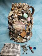 Early 19th Century Spirit/memory Jar - Unusual Array Of Historic Collectibles