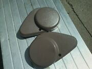 Ford Truck Ranger Bronco Ii Bucket Seat Hinge Cover Pair Lt Brown 1980and039s-1990and039s