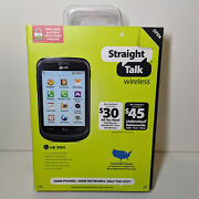 Straight Talk Lg 306g No Contract/locked Cell Phone - Open Box - Unused