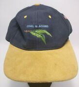 Vintage Coal And Allied Mining Trucker Hat Blue Wool Rare Takeover Aust Flag