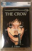 The Crow 1 1st Print Pgx 8.5 Caliber 1989 James Oandrsquobarr Art And Story