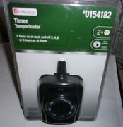 Prime Light Sensing Outdoor Countdown On/off Timer With 7 Settings Utilitech