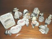 Kim Anderson Kids Pretty As A Picture Enesco Lot Of 10 Figurines Mint Condition