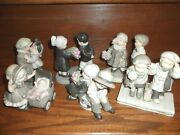 Kim Anderson Kids Pretty As A Picture Enesco Lot Of 6 Large Figurines - Mint