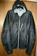 Rei Polartec Insulated Jacket Menand039s Black Hooded - Size Xl