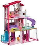 Barbie Dream House With Large Elevator Dress Up Doll And Years