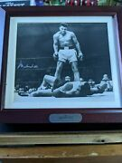 Muhammad Ali Fossil Watch, Limited Edition, Autographed Picture Boxed 156/7500