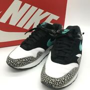 Nike Air Max 1 Atmos Cement Elephant 908366 001 Us 9.5 With Box Excellent