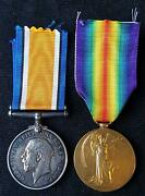 Ww1 Pair Casualty 1/6th Bn. Northumberland Fusiliers