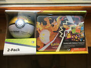 Pokemon Tcg Fall 2020 Collectors Chest Tin Lunchbox Poke Ball 8 Booster Packs
