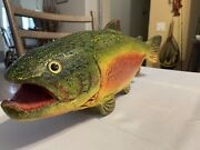 Duluth Fish Decoy 26andrdquo Best Fish Ever Rainbow Trout